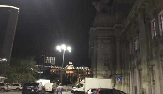 ミラノ到着 〜夜のミラノ中央駅はとても物騒です【2017年9月・インド-ヨーロッパ旅行】7