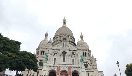 パリ観光ガイド 〜サクレ・クール寺院周辺散策【2017年9月・インド-ヨーロッパ旅行】12
