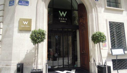 名門ホテル・Wパリ オペラに無料宿泊!【2017年7月・ドイツ-フランス旅行】15