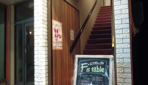 【青森・イタリアン】F's table(エフズテーブル) 〜一人ディナーでも大丈夫!気軽に訪問出来るイタリアン