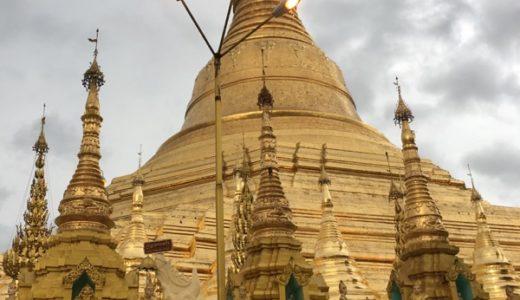 黄金の寺院 〜シュエダゴン・パゴダ【2018年7月・ミャンマー旅行】8