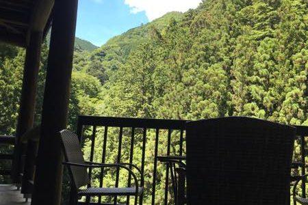【奥多摩・カフェ】渓谷展望カフェ・兜家旅館 〜奥多摩の絶景を眺めながらのカフェ!