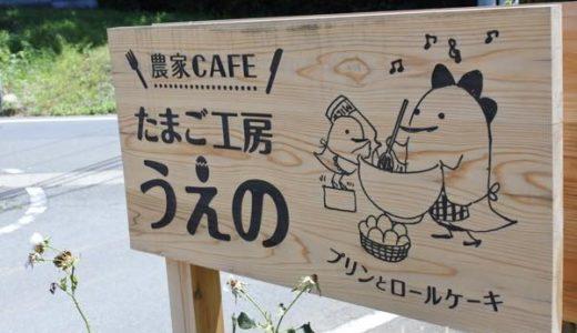 【瑞穂町・カフェ】たまご工房うえの 〜農家カフェの濃厚プリン!