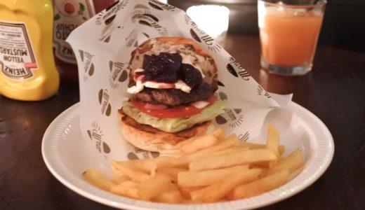 【恵比寿・ハンバーガー】バーガーマニア・恵比寿店 〜アメリカンチェリーとクリームチーズのハンバーガーが美味しかった♪