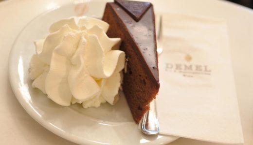 【ウイーン・カフェ】DEMEL 〜オーストリア旅、最初のカフェはザッハトルテの名店♪
