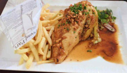 【パリ・レストラン】Corner Haussmman 〜ラ・ファイエット駅近く。遅い時間まで利用可能なレストラン。