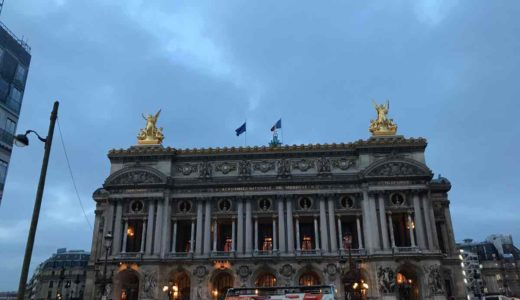 ソウルからパリへ到着、オペラ座経由でホテルのあるサンジェルマン・デ・プレへ【2019年12月-2020年1月・パリ旅行】4