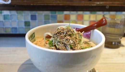 【東中神・ラーメン】めだかタンタン 〜看板メニューの豆乳入り担々麺は美味しい辛さでした