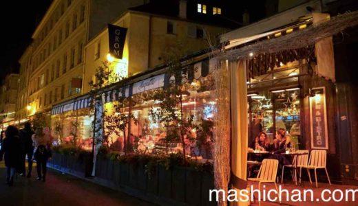 【パリ・レストラン】Huguette(ユゲット)〜2019年大晦日は賑やかな魚介のレストランでディナー♪