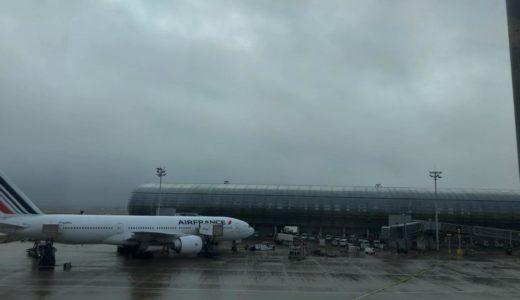 パリ・シャルル・ド・ゴール空港からソウル(仁川)へ【2019年12月-2020年1月・パリ旅行】11