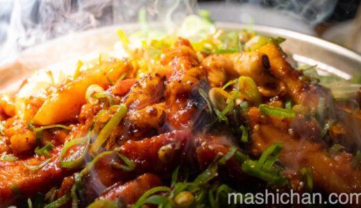 【月島・焼肉】在市 〜ごちゃまぜ焼きと冷麺を堪能!