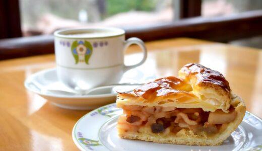 【軽井沢・カフェ】万平ホテル カフェテラス 〜老舗ホテルでアップルパイとロイヤルミルクティー♪